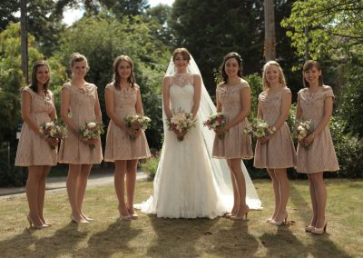 Lily & Bridesmaids St Aldates Oxford