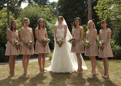 Lily & Bridesmaids St Aldates Oxford