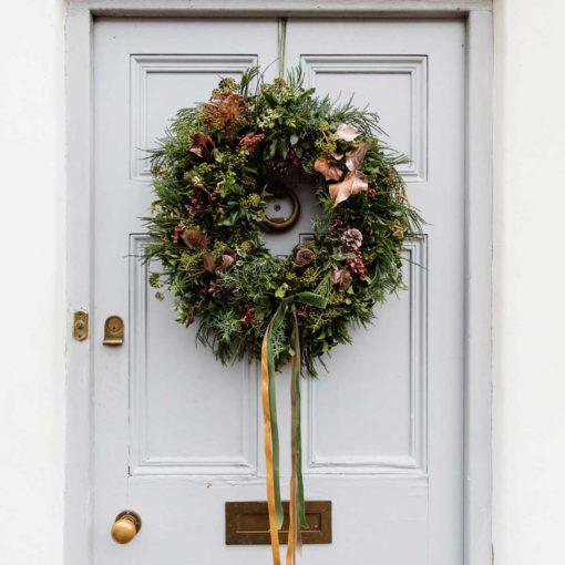 Seasonal Xmas Wreath Winter Spice