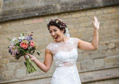 Happy Bride Watlington Florist